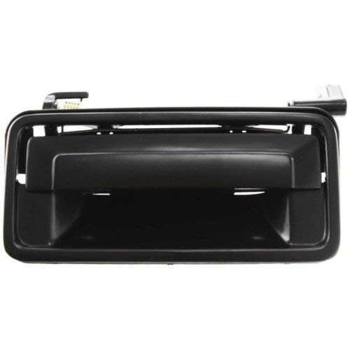 - Exterior Front Door Handle Compatible with CHEVROLET CORSICA 1987-1996/CUTLASS SUPREME 1990-1997 LH Smooth Black