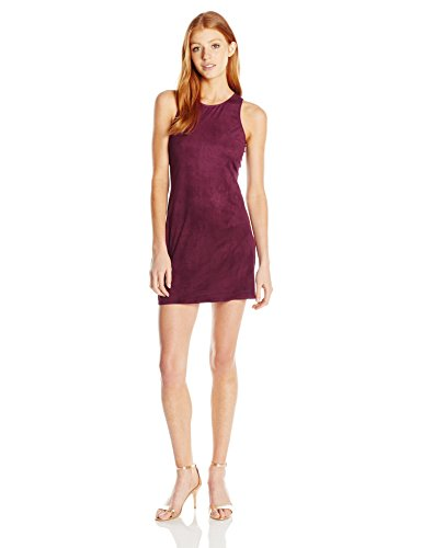 Angie-Womens-Faux-Suede-Tank-Dress