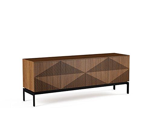 BDI Zona 8859 Quad Width Credenza (Natural Walnut) by BDI Furniture