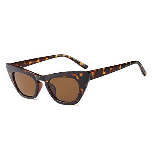 Blanco Leopard Gafas Gafas Rojo Uv Gato Tea Clout De Señoras Vintage C5 C3 TIANLIANG04 Gafas Sol De Tonos Mujer Negro Travel Ojo De Sexy H6RBxqnwC