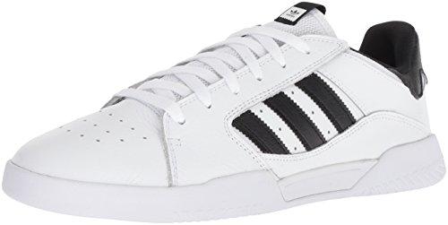 adidas Originals Men's VRX Low Skate Shoe, Black/White, 11 M US