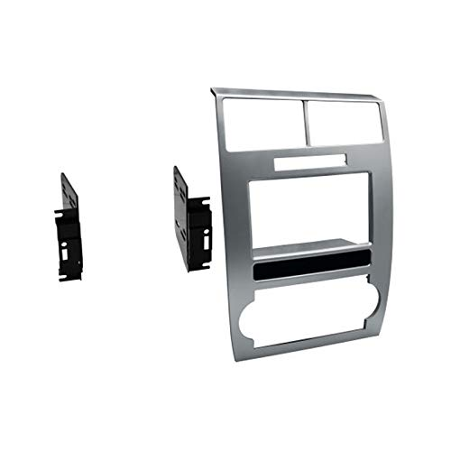 American Terminal CDK639S Double DIN Dash Panel Kit for 2006-2007 Dodge Charger and 2005-2007 Dodge Magnum
