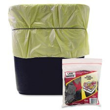 Can Rubber Bands,7''''x1/8'''',Fits 13Qt.-32 Gallon,50/PK,Black, Sold as 1 Package, 50 Each per Package