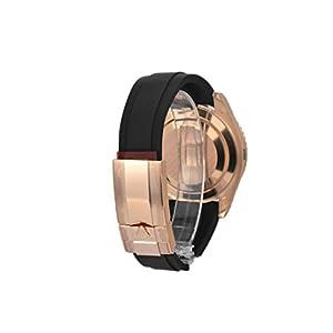 Rolex Yacht Master 40 Black Dial18k Rose Gold Mens Watch 116655