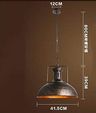 Lightoray Iluminación colgante de luces de techo Vintage ...