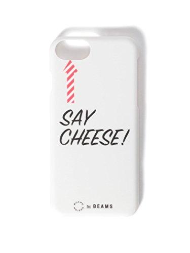 (B PR 빔스)bpr BEAMS/모바일 케이스・커버 BEAMS/메세지 iPhone8・7케이스 CHEESE ONE SIZE
