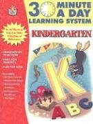 Download 30 Minutes a Day: Kindergarten (30 Minute a Day Learning System) pdf epub