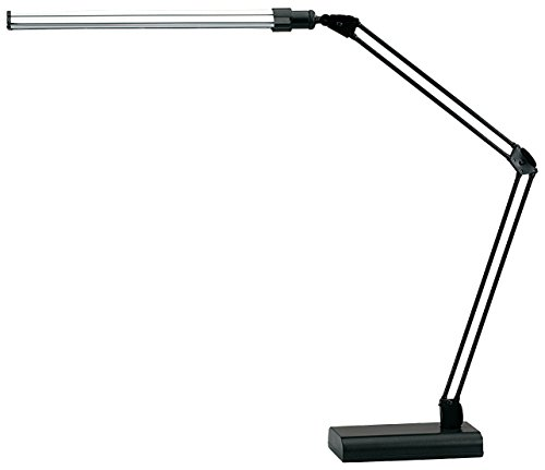 - V-LIGHT LED Energy-Efficient Ultra-Slim Desk Lamp with Adjustable Arms (VSL188NC)