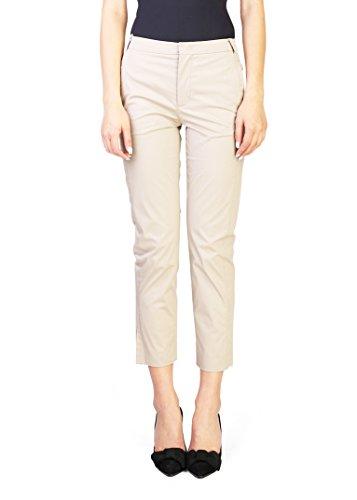 Prada Women's Cotton Slim Fit Pants Khaki