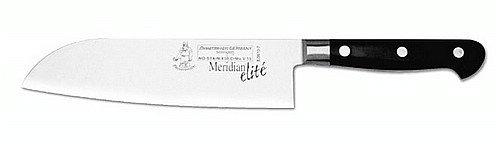 Messermeister Meridian Elite Santoku Knife, 7-Inch