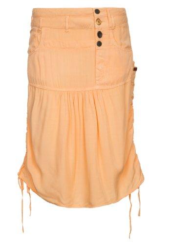 A Para Mujer Khujo Naranja Falda Trapecio En Corte O qqPXYwf