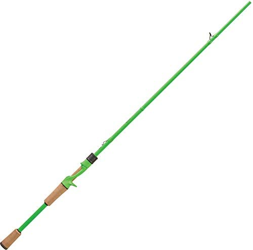 13 Fishing, Fate Black Gen 2 1 Piece Casting Rod, 7 1 Length, 12-20 lbs Line Rating, Medium Heavy Power, Fast Action