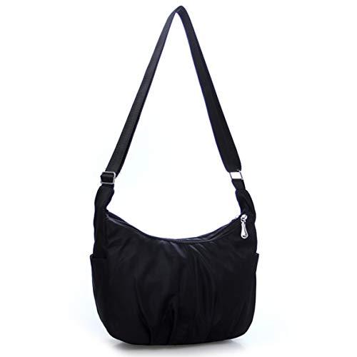 mode bandoulière fermeture femmes à à capacité glissière à grande la bandoulière Sac à nylon Sac sac bandoulière la à mode pour à imperméable en unique Mollies à q7HpACxw