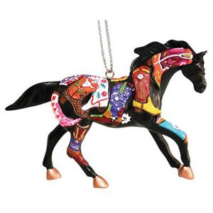 Trail of Painted Ponies Boot Camp Ornament