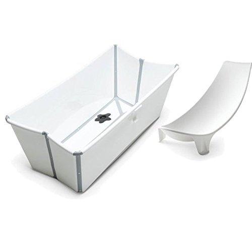【オープニング大セール】 Stokke Stokke Flexi Bath Stokke in White with [並行輸入品] Newborn Support by Stokke [並行輸入品] B079YYFQ5R, ウタシナイシ:1cd8ac50 --- arianechie.dominiotemporario.com