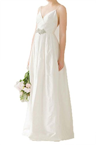 Bridal with Wedding Kleid Pieces Spitzen Women's Ivory Two Kleides Lang Fanciest Sleeves vwzgYOqw