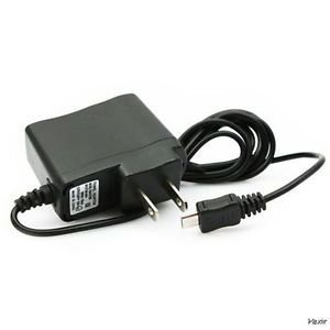 Slim LED Home Wall Charger Works with Nokia Lumia 822! AC / 110V-240V (Black) ()