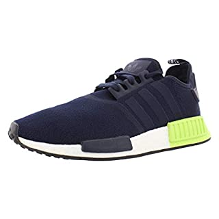 adidas Originals mens Nmd_r1 Running Shoe, Legend Ink/Legend Ink/Hi-res Yellow, 5 US