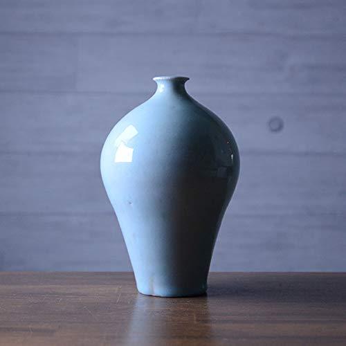 灰青釉花器(MY-038) 作家「山本雅彦」 B07R4HNZSF