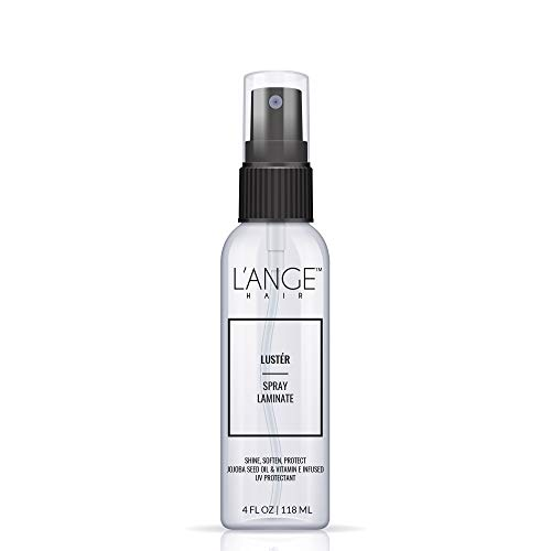 (L'ANGE Hair Luster Spray Laminate - Botanical Extracts & Jojoba Oil - Alcohol Free Hydrating UV Protectant Hairspray - Promotes Hair Growth - Salon Grade Care for All Types of Hair, 4 Fl.Oz)