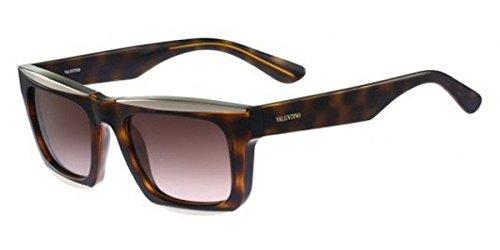 Valentino Men's Sunglasses, Dark Havana, - Sunglasses Mens Valentino