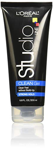 - L'Oreal Paris Studio Line Clean Gel, Strong Hold, 6.8 Ounce (Pack of 3)