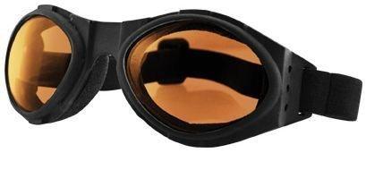 Motorcycle Goggles Bugeye [Amber]]()