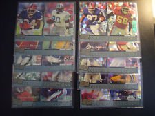 (1993 Pro Set College Connections Football Insert 10 Card Set - Includes Emmitt Smith, Barry Sanders, Steve Young and Joe Montana)