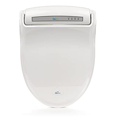 Bio Bidet Supreme BB-1000 White Bidet Toilet Seat Adjustable Warm Water, Self Cleaning, Wireless Remote Control, Posterior and Feminine Wash, Electric Bidet, Easy DIY Installation …