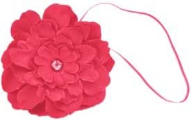 Stretchy Flower Headband for Baby, Toddler, Girl, Teen, Adult. Skinny Headband.Sally