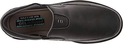 skechers relaxed fit gel infused memory foam men's shoes