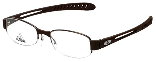 Adidas Designer Eyeglasses a881-40-6050 in Dark Brown 52mm DEMO - Adidas Rx Glasses