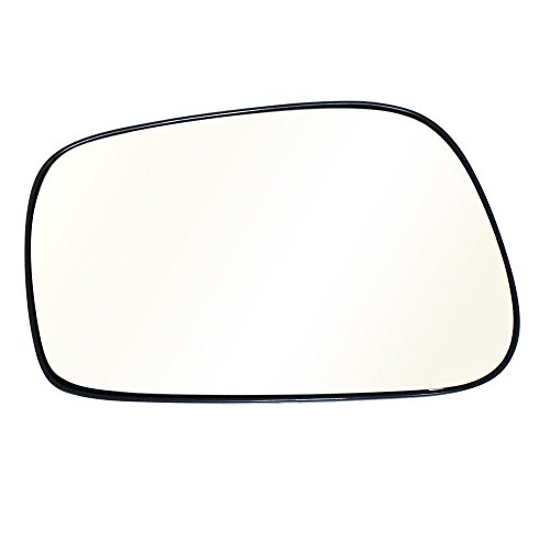Titanium Plus Autoparts, 2003-2008 Fits For Toyota Matrix Front,Left Driver Side DOOR MIRROR PLATE WITH OUT HEATED