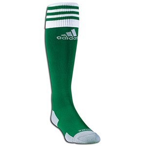 adidas Copa Zone Cushioned Sock (Lime Green) (L)