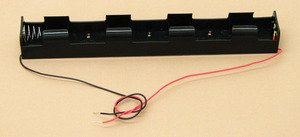 SEOH Four Battery Holder D With 12in Wire Leads for Physics