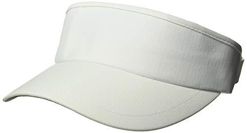 Ouray Sportswear Performance Tour Visor, White, Adjustable