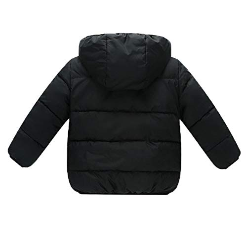 620638c7d Goodkids Baby Girls Boys  Winter Fleece Jackets with Hooded Toddler ...