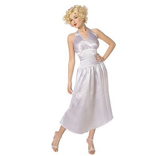 [Womens Sexy Marilyn Monroe Fancy Dress Costume - 1 Piece Quality Costume] (Fantastic 4 Costume Uk)