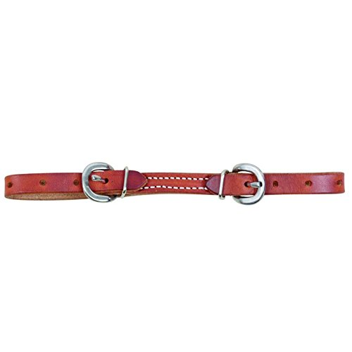 - Martin Harness Leather Curb Strap
