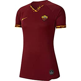 Nike 2019-2020 Roma Home Ladies Football Soccer T-Shirt Maillot