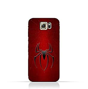 Samsung Galaxy S7 TPU Silicone Protective Case with Spider Man Logo Design