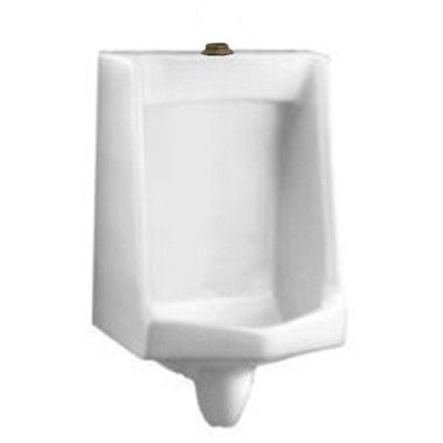"""Lynbrook Urinal with 1.25"""" Top Spud, Wall Hangers, and Outlet Connection"""
