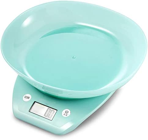 QIQIDEDIAN 台所電子スケールベーキング計量ベーキング&クッキングスケールLCDディスプレイ2g-3kg (Color : Green)