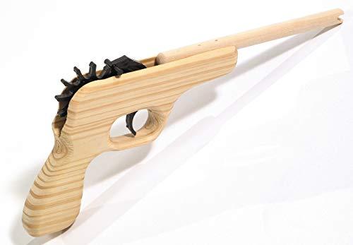 Texas Long Barrel 12-Shot Rubber Band Gun 12 Pack Rubber Bands