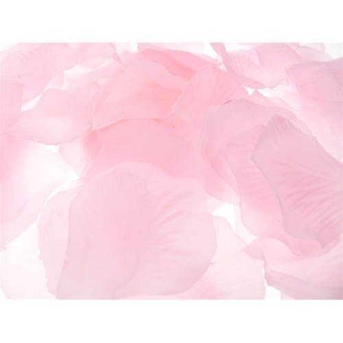 (Firefly Imports Homeford 400-Piece Faux Rose Petals Confetti Table Scatter, Light Pink)