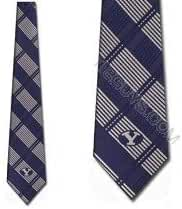 BYU Cougars NeckTies Woven Plaid Ties