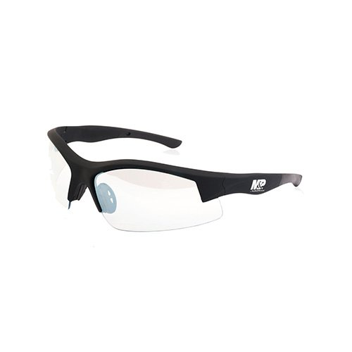 Smith & Wesson M&P Super Cobra Frame Shooting Glasses with No-Slip Rubber, Impact Resistance and Anti-Fog Lenses for Shooting, Working and Everyday Use by Smith & Wesson