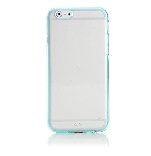 ArktisPRO Cushion Clear Case für Apple iPhone 6 glasklar/türkis