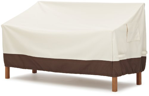AmazonBasics 3-Seater Bench Outdoor Patio Furniture Cover (Covers Depot Outdoor Furniture Home)