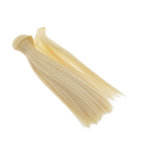 MagiDeal 15x100cm Doll DIY Wig Straight Hair for 1/3 1/4 1/6 BJD SD Barbie Dolls #8